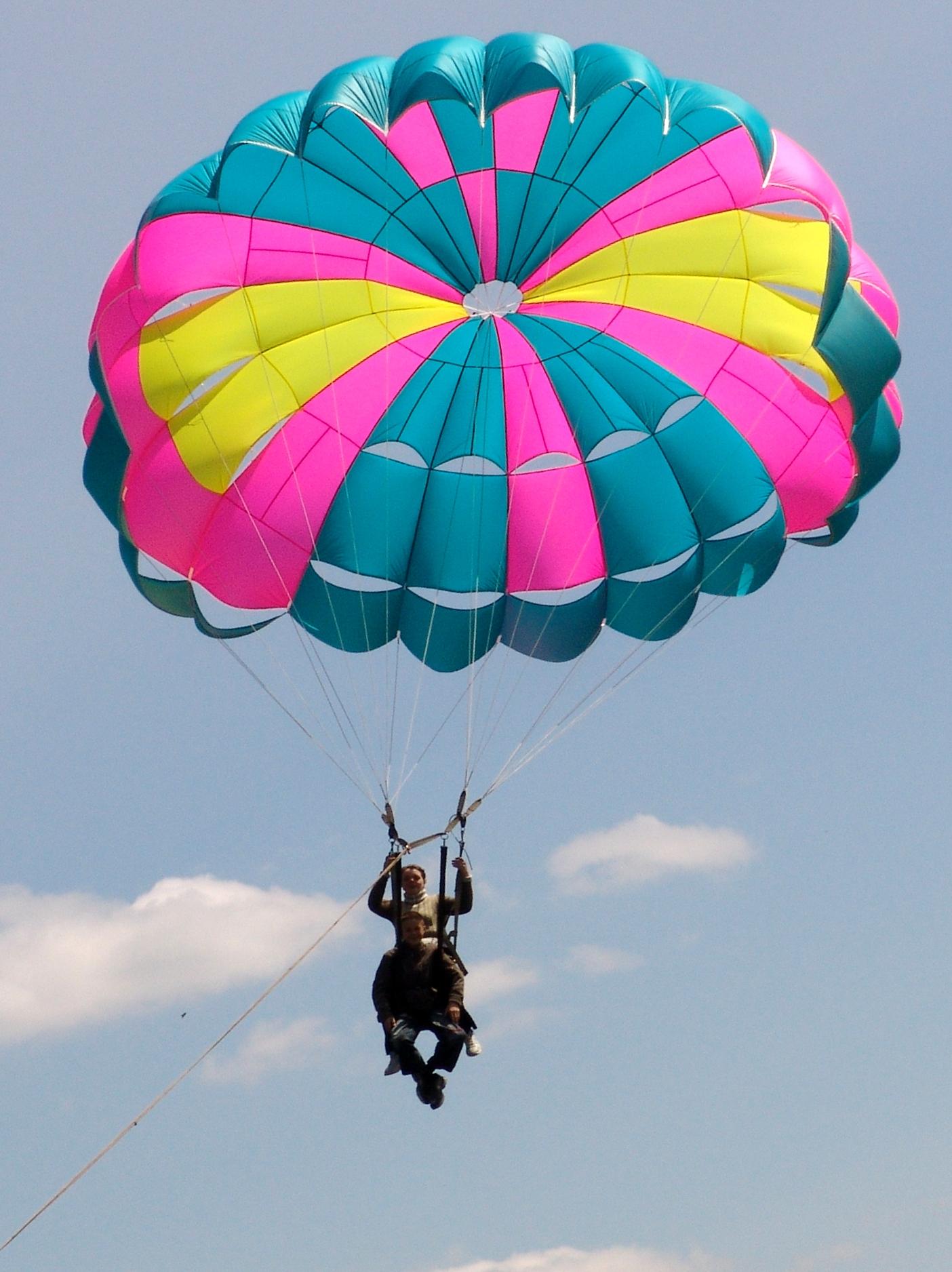Как сделать летающий парашют 654